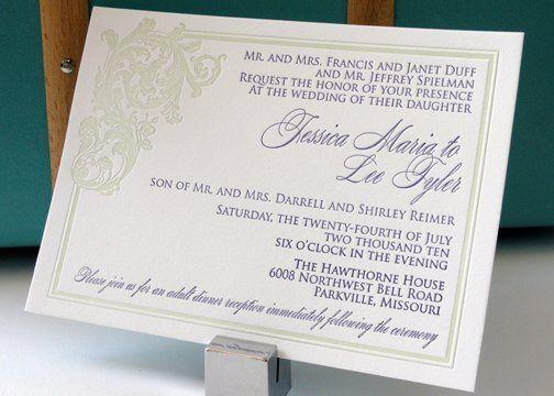 Tmx 1288812427523 Jessica Overland Park wedding invitation