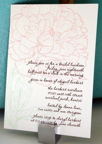 Tmx 1288812428319 Peonysideinviteforweb Overland Park wedding invitation