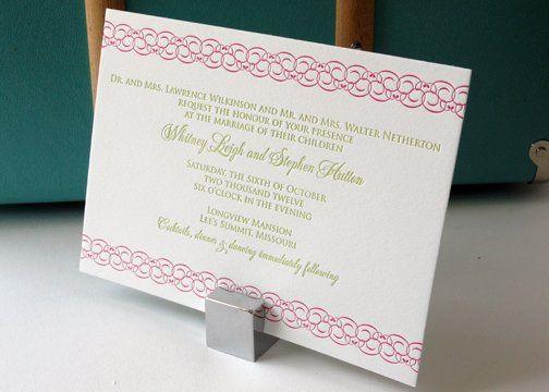 Tmx 1288812430476 Loveknotssideinvite Overland Park wedding invitation