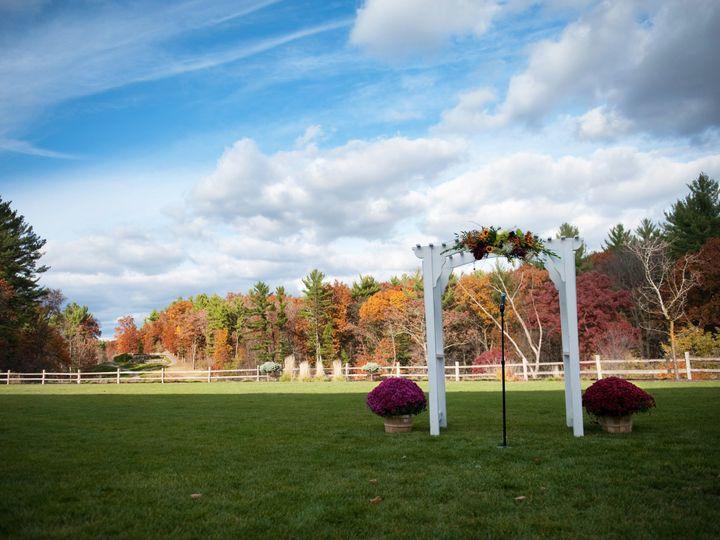 Tmx 1416426529248 Outdoor Fall Ceremony Arch Wisconsin Dells wedding venue