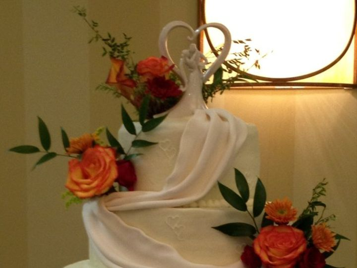 Tmx 1352760138015 SimpleDrapes Knoxville, Tennessee wedding cake