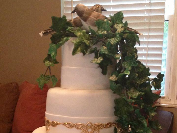 Tmx 1352760148547 CelticIvyCake Knoxville, Tennessee wedding cake