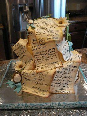 Tmx 1352760198324 LoveLetterWeddingCake Knoxville, Tennessee wedding cake