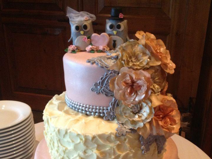 Tmx 1431720554236 Owl Wedding Cake Knoxville, Tennessee wedding cake
