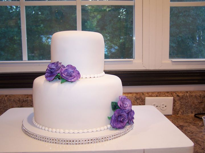 Tmx 1431720814141 Brittany Self Cake Knoxville, Tennessee wedding cake