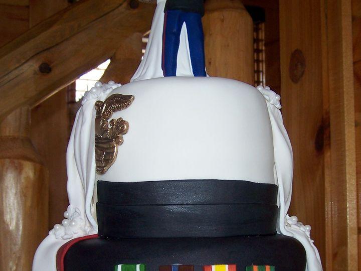 Tmx 1431721223038 Half N Half Military2 Knoxville, Tennessee wedding cake