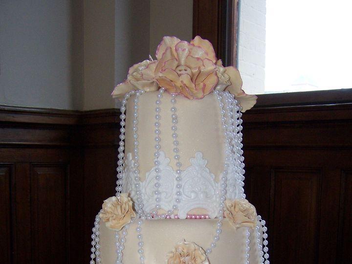 Tmx 1431721504602 Logan  Christina2 Knoxville, Tennessee wedding cake
