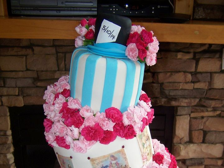 Tmx 1431721557780 Madhatter1 Knoxville, Tennessee wedding cake