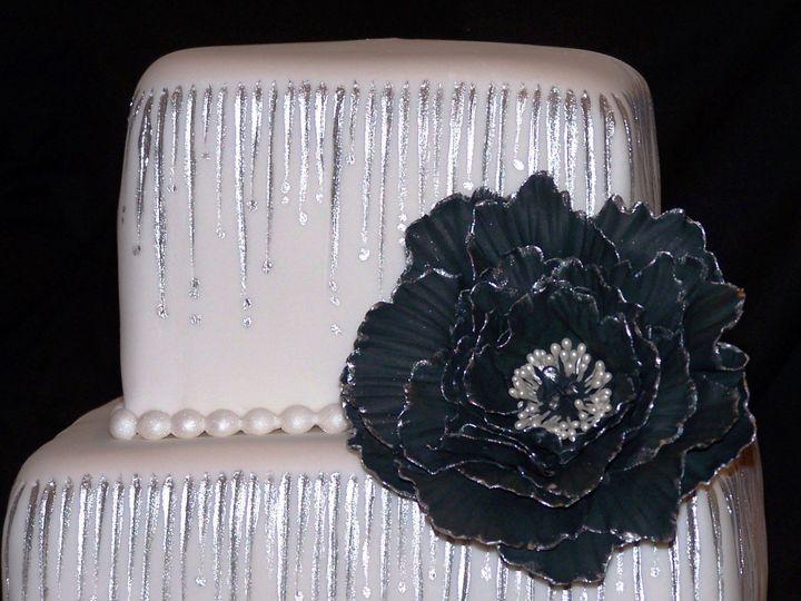 Tmx 1431726179915 Striking Cake1 Knoxville, Tennessee wedding cake