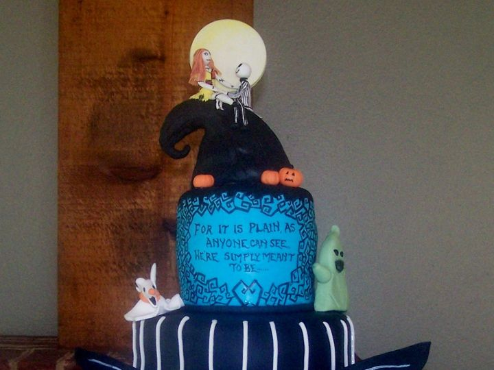 Tmx 1431727430949 Nightmare Before Christmas2 2 Knoxville, Tennessee wedding cake