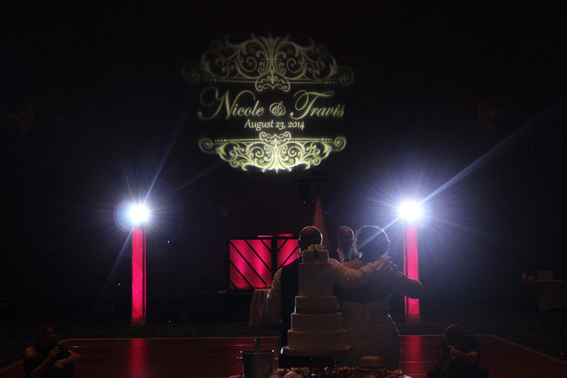 Intelligent Lighting and Monogram  Grand Ballroom - Kansas City