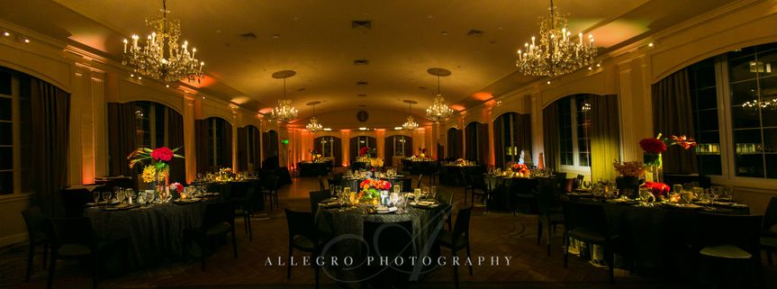 Reception hall | Allegro Photography