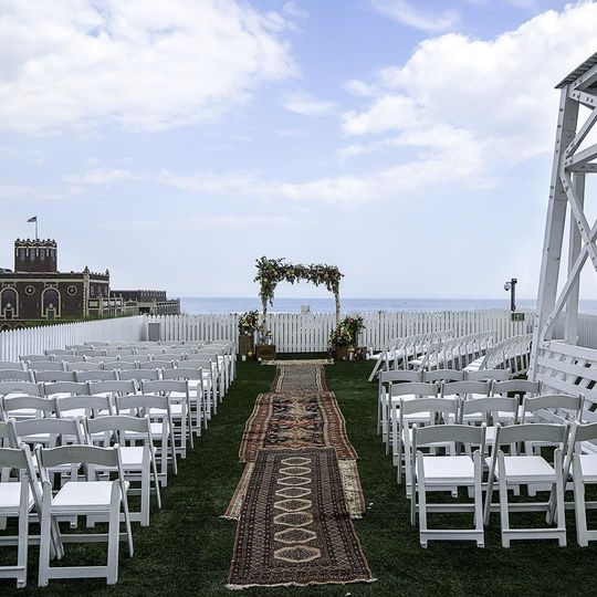 ROOFTOP CEREMONY ON BARONET