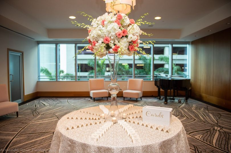 Wedding Guest Card Table