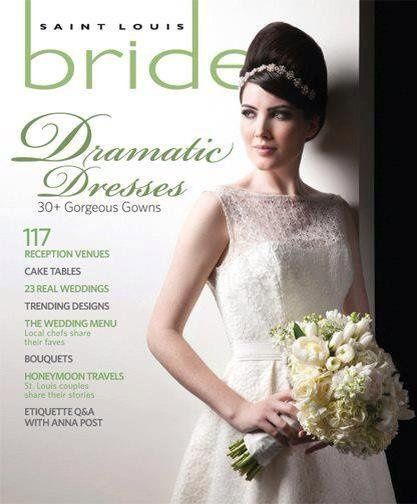 this is the St. Louis Bride Magazine spring/summer 2012 editorial & cover I did the hair for.