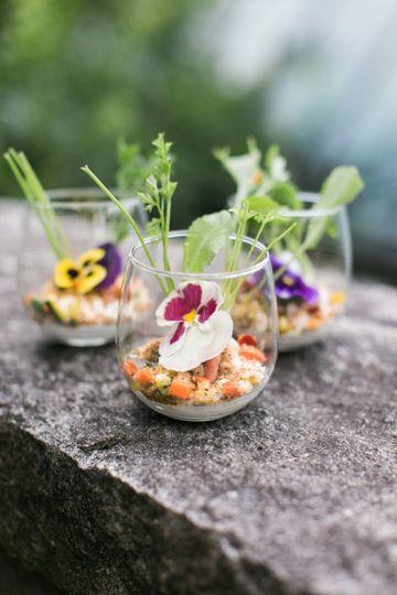 Seasonal, vibrant menu options