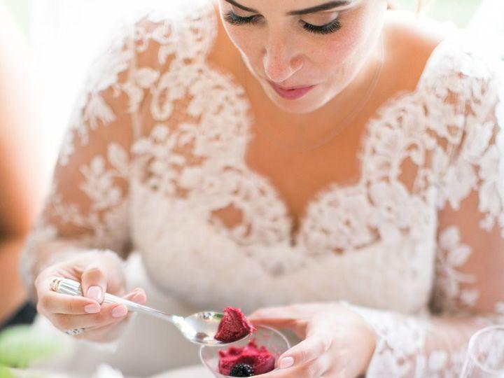 Tmx Plated Blackberry Lemon Sorbetto With Bride 2 51 162124 157653297325863 Redmond wedding catering