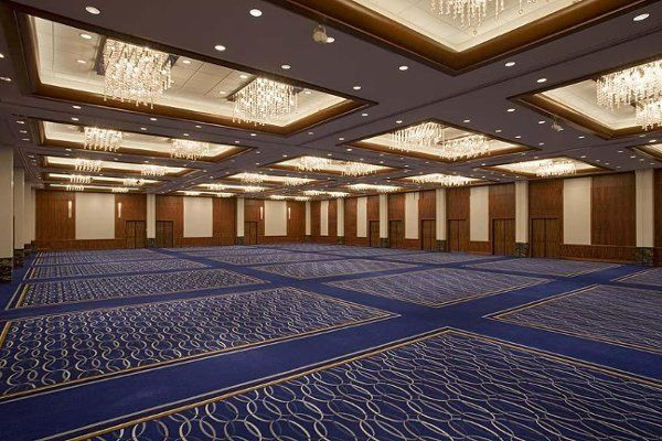 The reception space