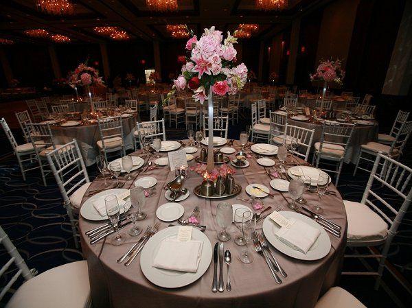 Classic table arrangement