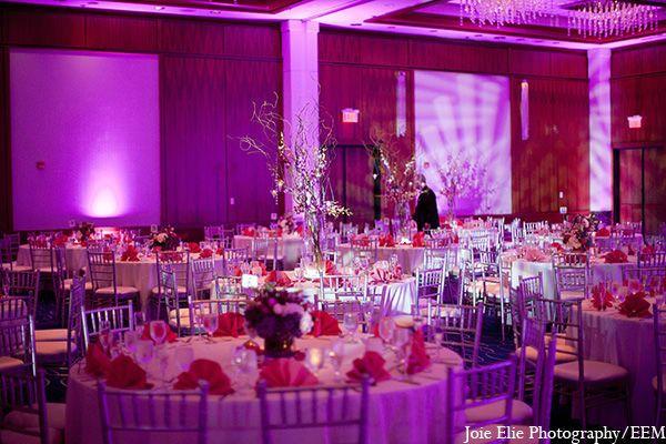 Violet party lights