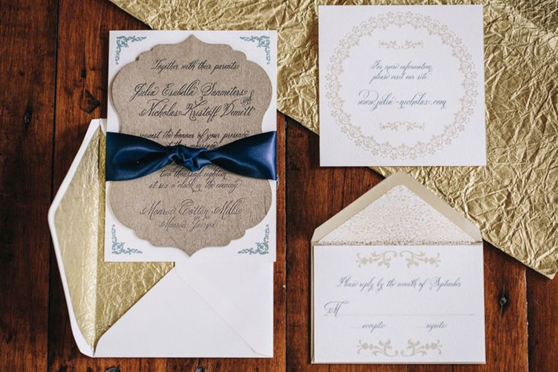 hi note Invitations Atlanta GA WeddingWire