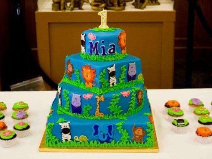 Tmx 1397751501119 Miascak Hinesburg wedding cake