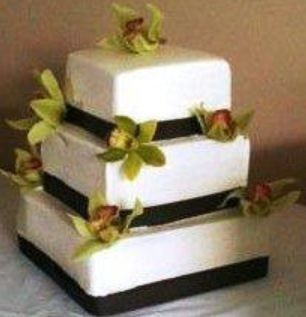 Tmx 1397751505052 Orchidcak Hinesburg wedding cake