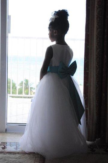 Wedding junior escort