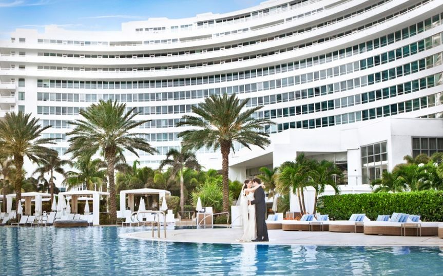 fontainebleau miami beach reviews & ratings, wedding