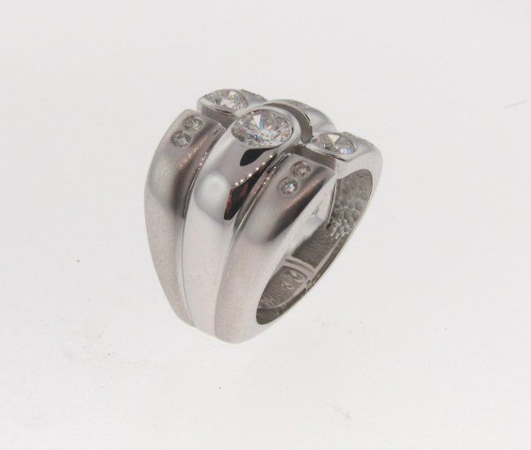 custom designed rings made to fit against their engagement ring or just rings designed perfectly for...