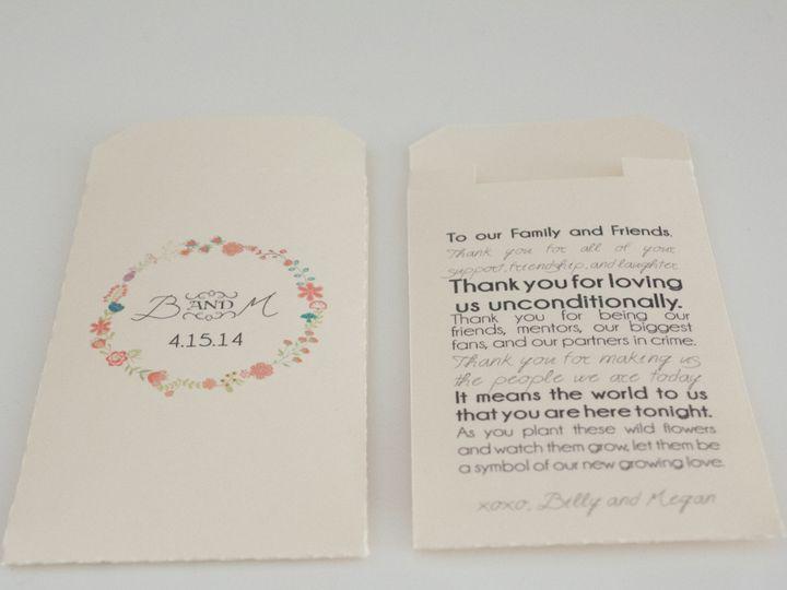 Tmx 1392232049360 Megmichelle01 Charlotte wedding favor