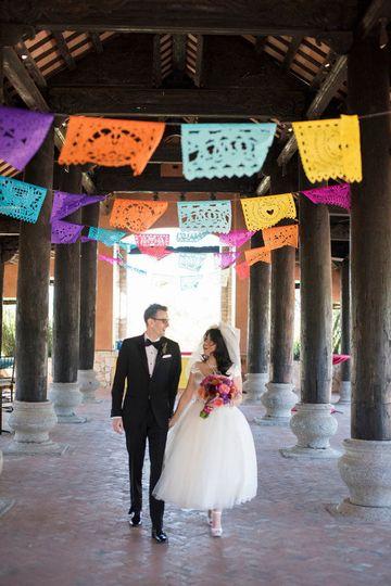 fb336ac438519640 wedding couple papel picado vintagebabydoll fiesta fancies