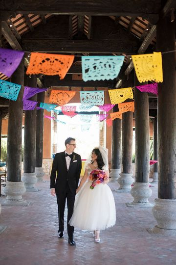 There's nothing more beautiful than hand cut papel picado tissue paper banners for your fiesta...