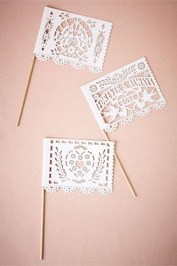 forever and always bhldn banderitas flags professi