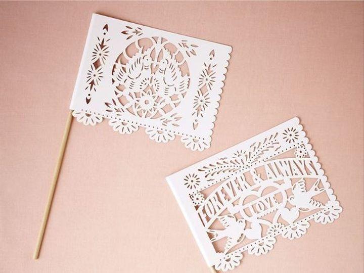 Tmx 1468007015854 Forever And Always Bhldn Banderitas Flags Professi Alhambra wedding favor