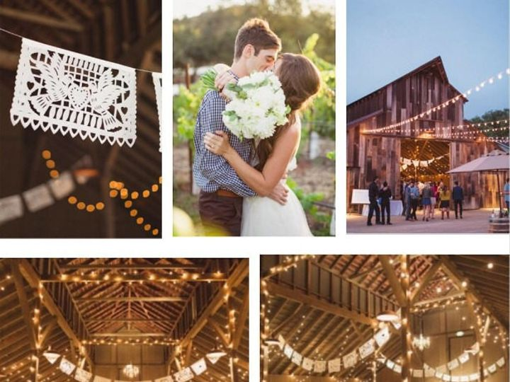 Tmx 1468007030503 Papel Picado Banners Professional Photo Barn Weddi Alhambra wedding favor