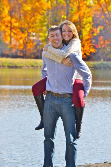 lindsey tyler fall engagement