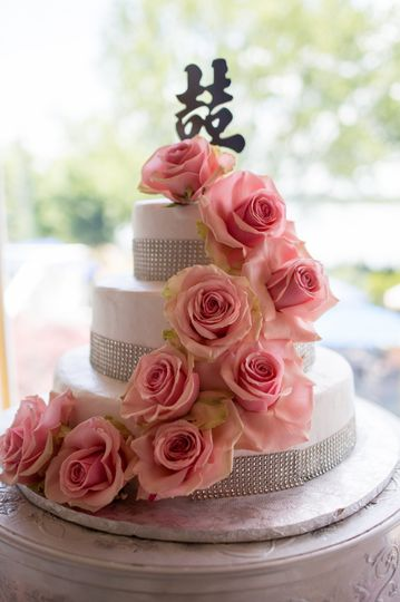 Wedding Cake's Created On Site