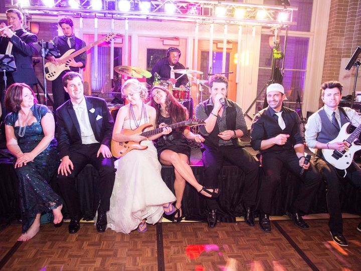 Tmx Bride With Guitar On Stage Old 51 671224 1572892789 Addison, TX wedding band