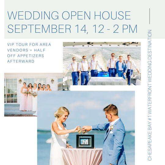 Wedding open house