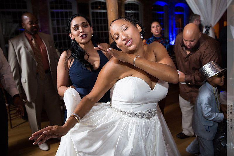 Bride Feels the Vibe!
