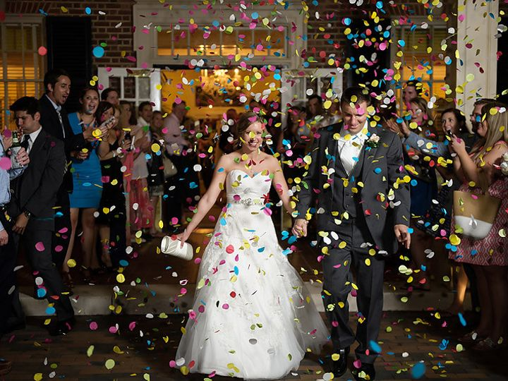 Tmx 1479355201833 Couple Being Feted With Confetti At The Prestonwoo Holly Springs, North Carolina wedding dj