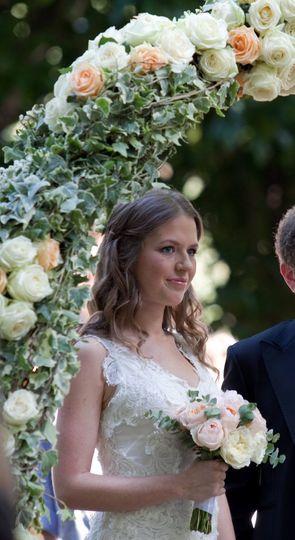 weddingflowersarchTuscany