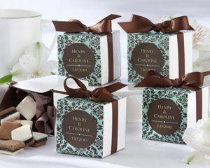 Tmx 1280079268785 Chocandturqfavorbox Utica wedding favor