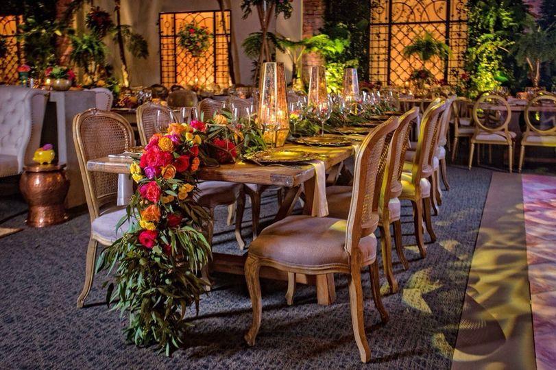 Dominican Wedding design