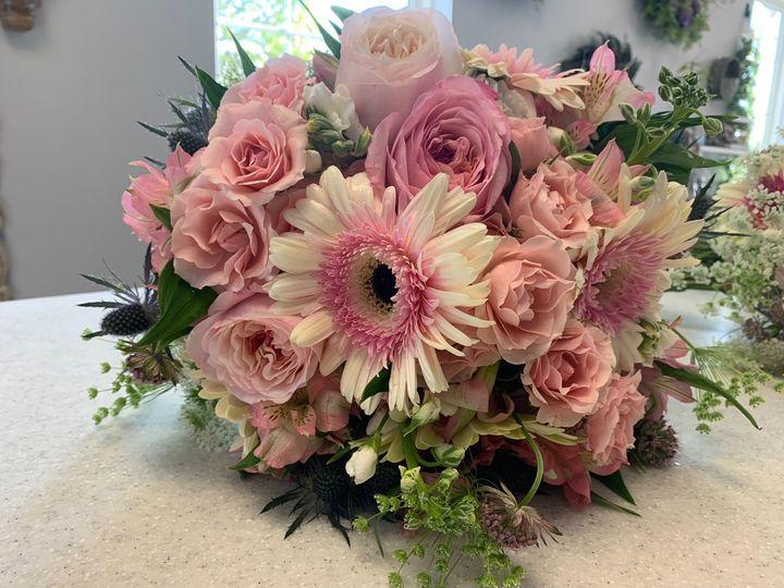 Brides spring bouquet
