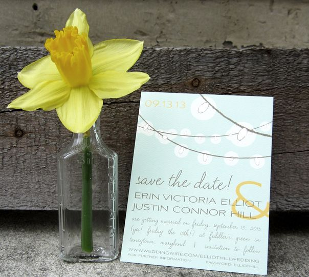 Luster Save the Date:    Bring the wonder and romance of twinkling string lights to your Save the...
