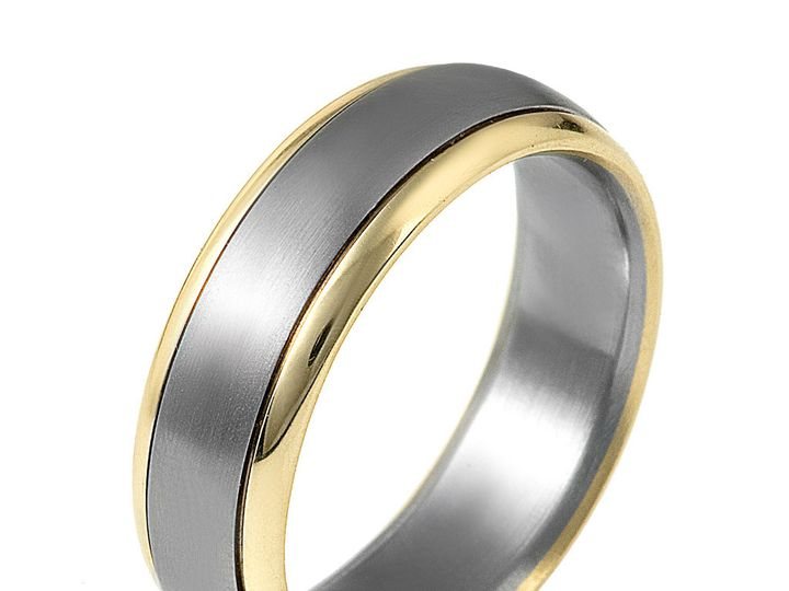 Tmx 1423498105897 Dora Titanium Ring Charlotte wedding jewelry