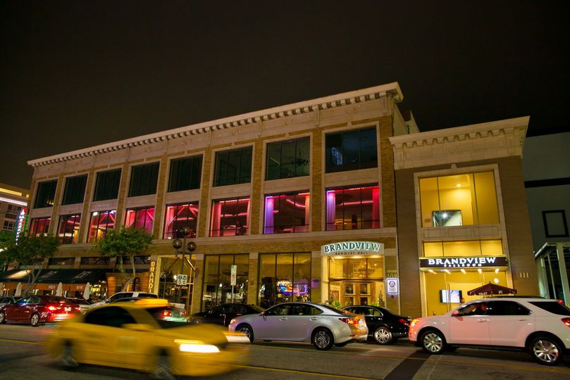 Exterior view of the venue