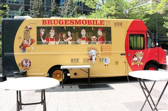 Brugesmobile - waffle and frites menu